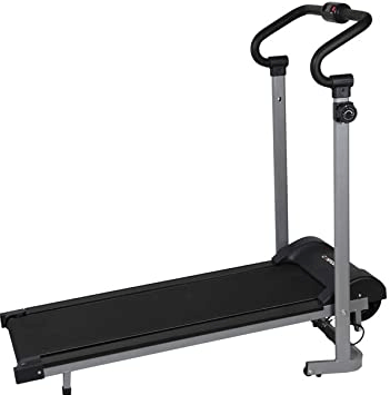 2. Confidence Fitness Magnetic Manual Treadmill
