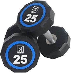 Fitness First Urethane Encased Dumbbells Pair