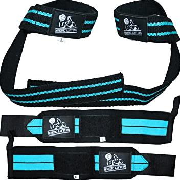 Nordic Lifting Wrist Wraps