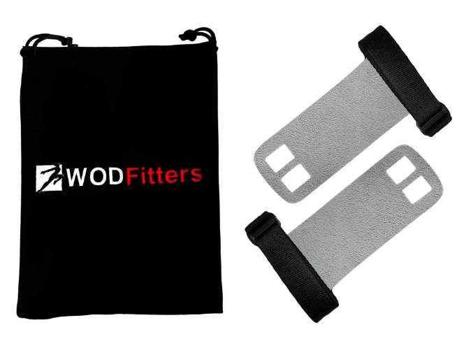 1) WODFitters Textured Leather Hand Grips