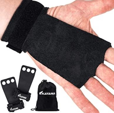 14) KAYANA Leather Gymnastics Hand Grips