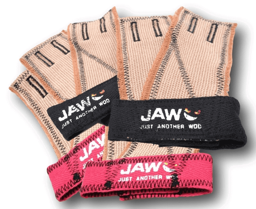 17) Jaw Pull Up Grips