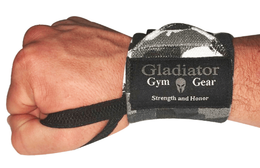 Gladiator Gym Gear's Weightlifting G3 Wrist Wraps