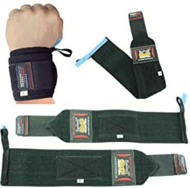 Grip Power Pad's Deluxe Wrist Wraps