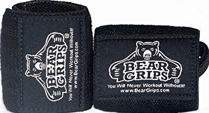Bear Grips' Gray-White Series Wrist Wraps