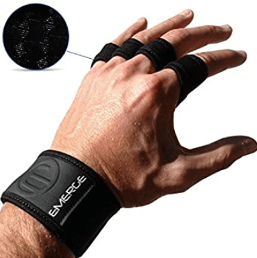 9) Cross Training Fitness Grips by Emerge