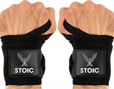Stoic Wrist Wraps for Weightlifting, Powerlifting, and CrossFit