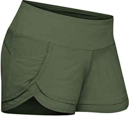 1) Tough Mode 3″ Athletic Crossfit Shorts