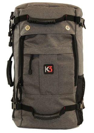 11) K3 Bravo Weatherproof Water-Resistant Backpack