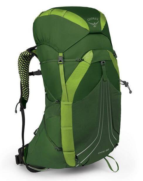 15) Osprey Packs Exos 58