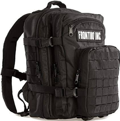17) Frontino Inc Backpack Tactical Crossfit