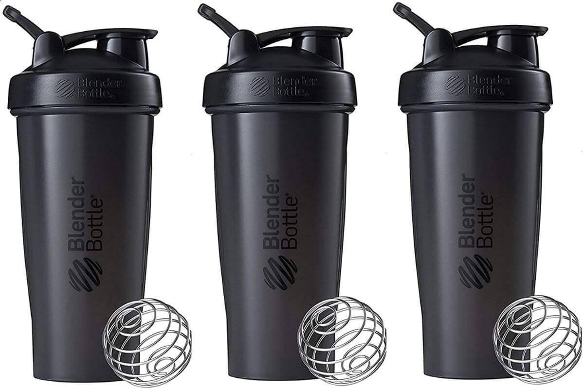 3) Blender Bottle Classic LoopTop Shaker Bottle