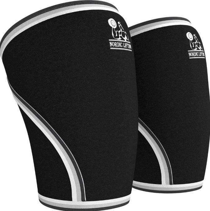 6) Nordic lifting knee sleeves
