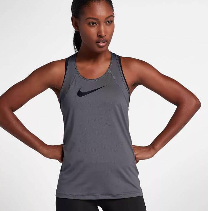 7) Nike Women's Pro Cool Training Tank Top