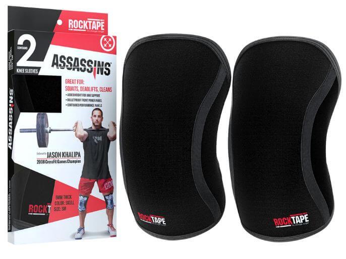 8) RockTape knee sleeves