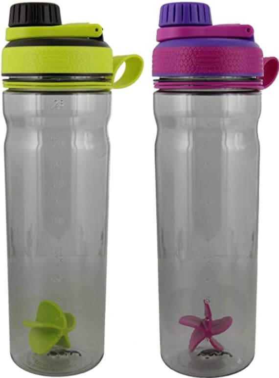 8) Rubbermaid Protein Shakes Shaker Cup