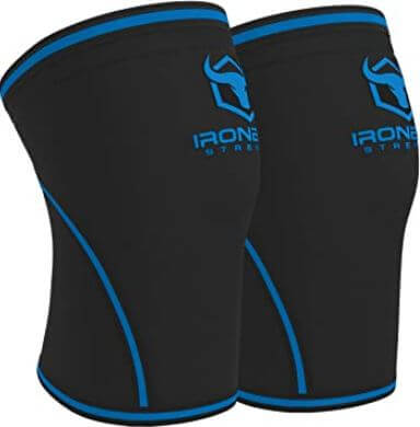 9) Iron Bull knee sleeves