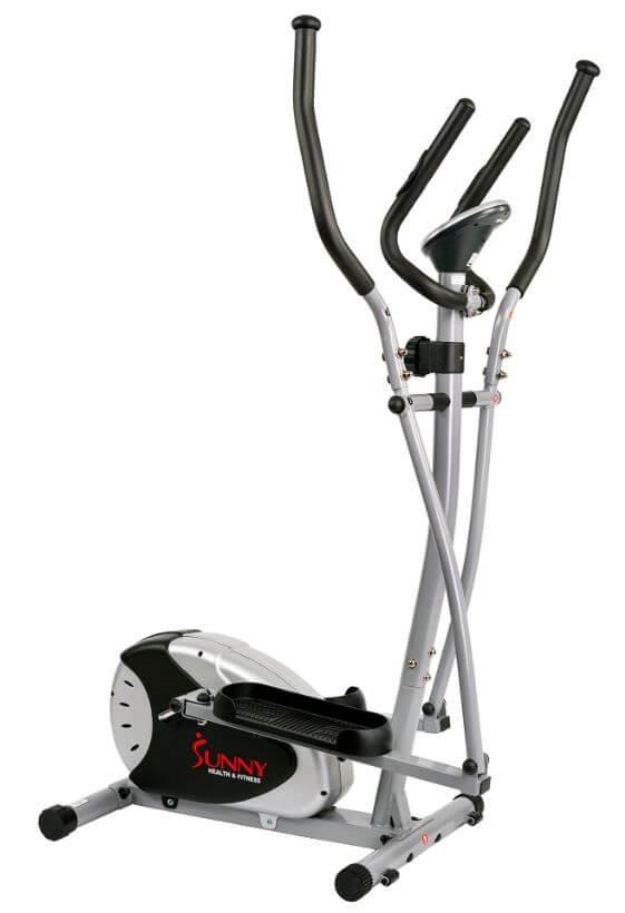 10) Sunny Health & Fitness SF-E905 Elliptical Machine