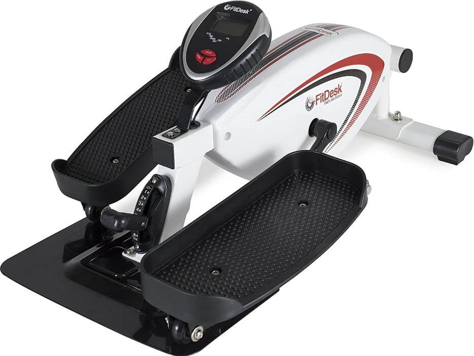2) FitDesk Under Desk Elliptical Trainer