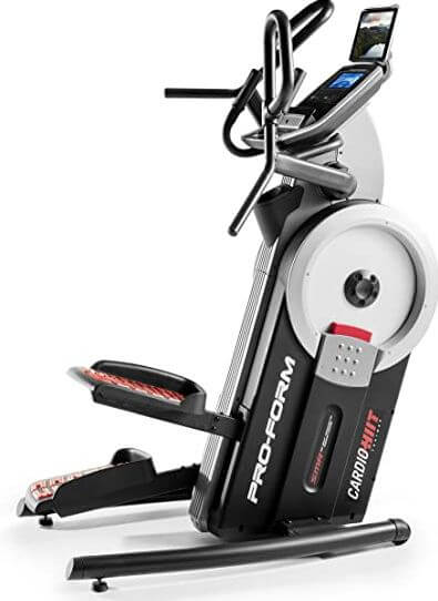 3) ProForm Cardio HIIT Elliptical