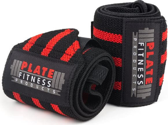 6) Plate Fitness Products Wrist Wraps