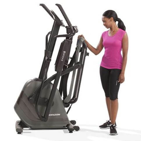 7) Horizon Evolve 5 Foldable Elliptical
