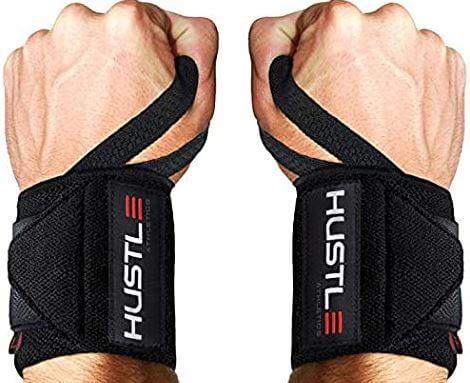 7) Hustle Athletics Wrist Wraps