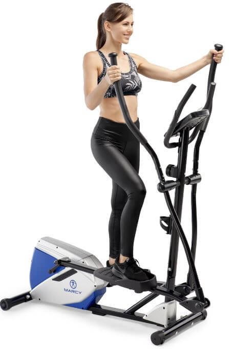 8) Marcy Magnetic Elliptical Trainer
