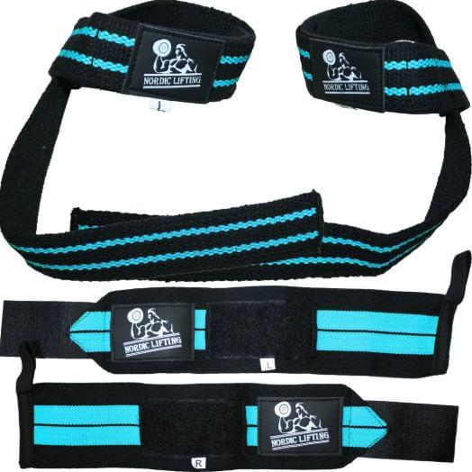 9) Nordic Lifting Wrist Wraps & Lifting Straps Bundles