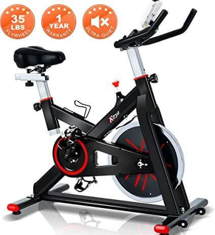 12) TRAYA Spin Bike