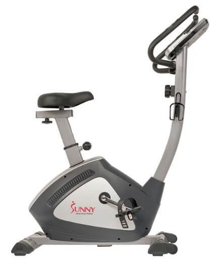 14) Sunny Health & Fitness Endurance Zone Upright Bike