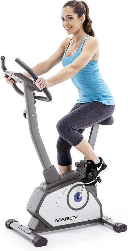 17) Marcy Magnetic Upright Bike