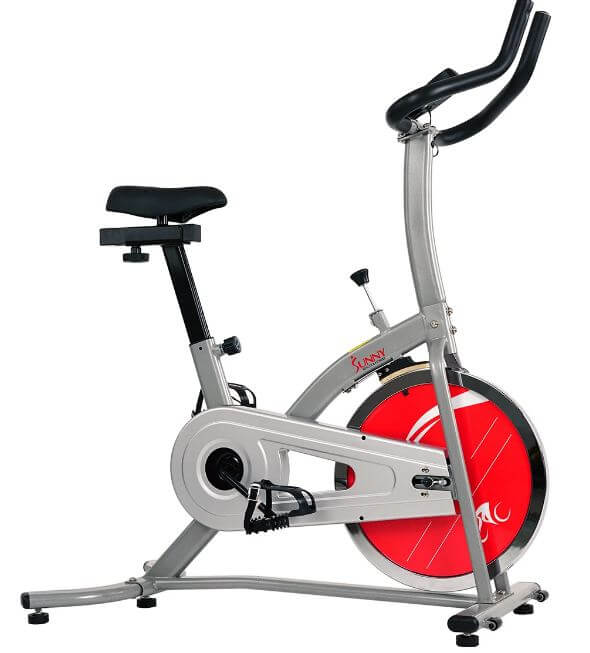 3) Sunny Health & Fitness Indoor Exercise Stationary Bike