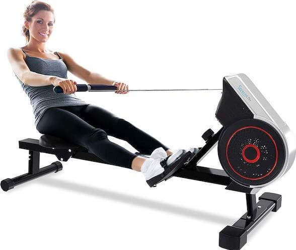 4) SereneLife Best Full Motion Rowing Machine Under 500 Dollars