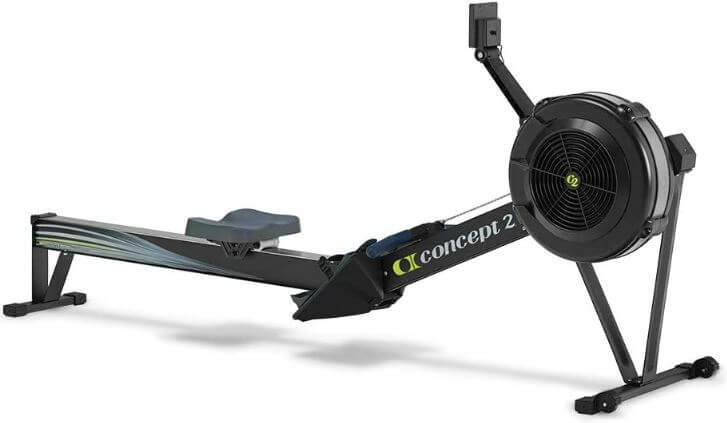 8) Concept 2 Model D Indoor Rowing Machine