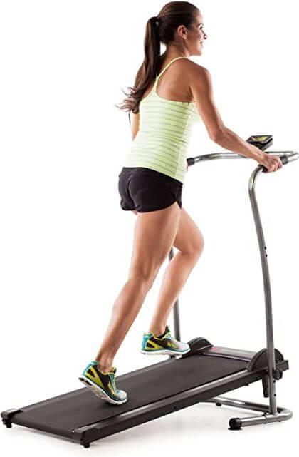 10) Weslo CardioStride 4.0 Manual Treadmill For Cardio Training