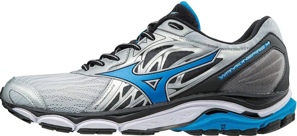 3) Mizuno Men's Wave Inspire 14 Running Shoes