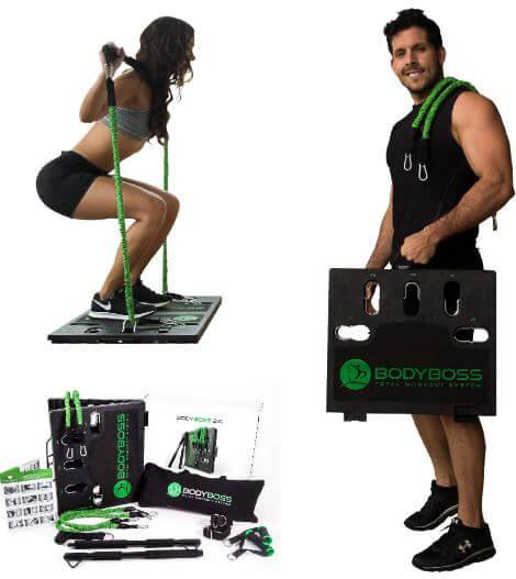 4) Body Boss 2.0-Full Portable Home Gym