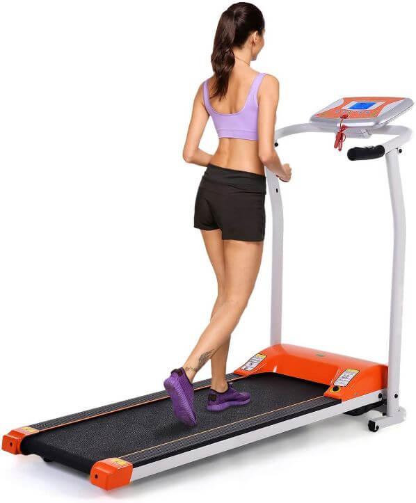5) Aceshin Folding Electric Treadmill