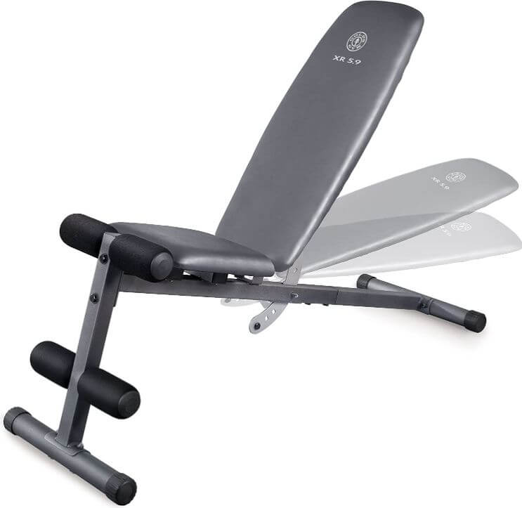5) Weider Incline Weight Bench