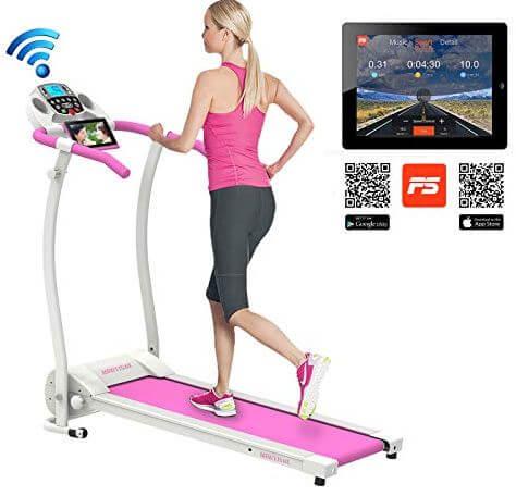 6) Murtisol Folding Treadmill