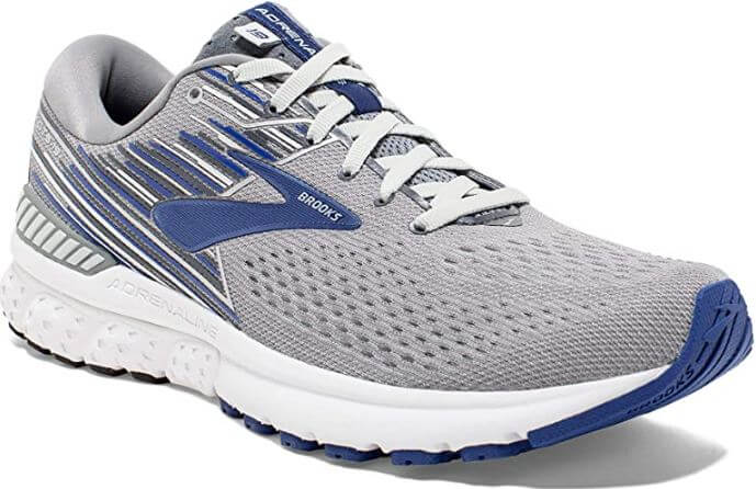 8) Brooks Men's Adrenaline GTS 19 Running Shoes
