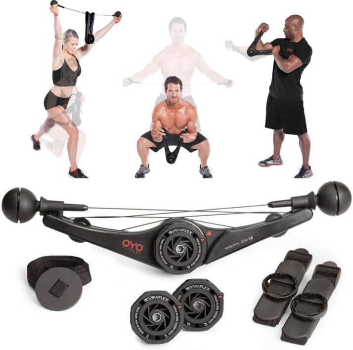 8) OYO Personal Gym-Full Body Portable Gym Equipment Set