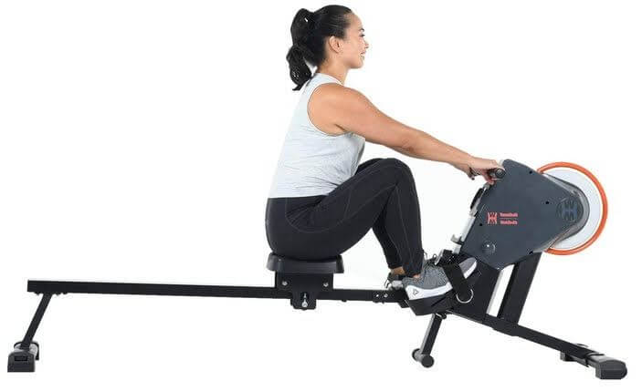 8) Women's Health Men's Health Bluetooth Rower Rowing Machine