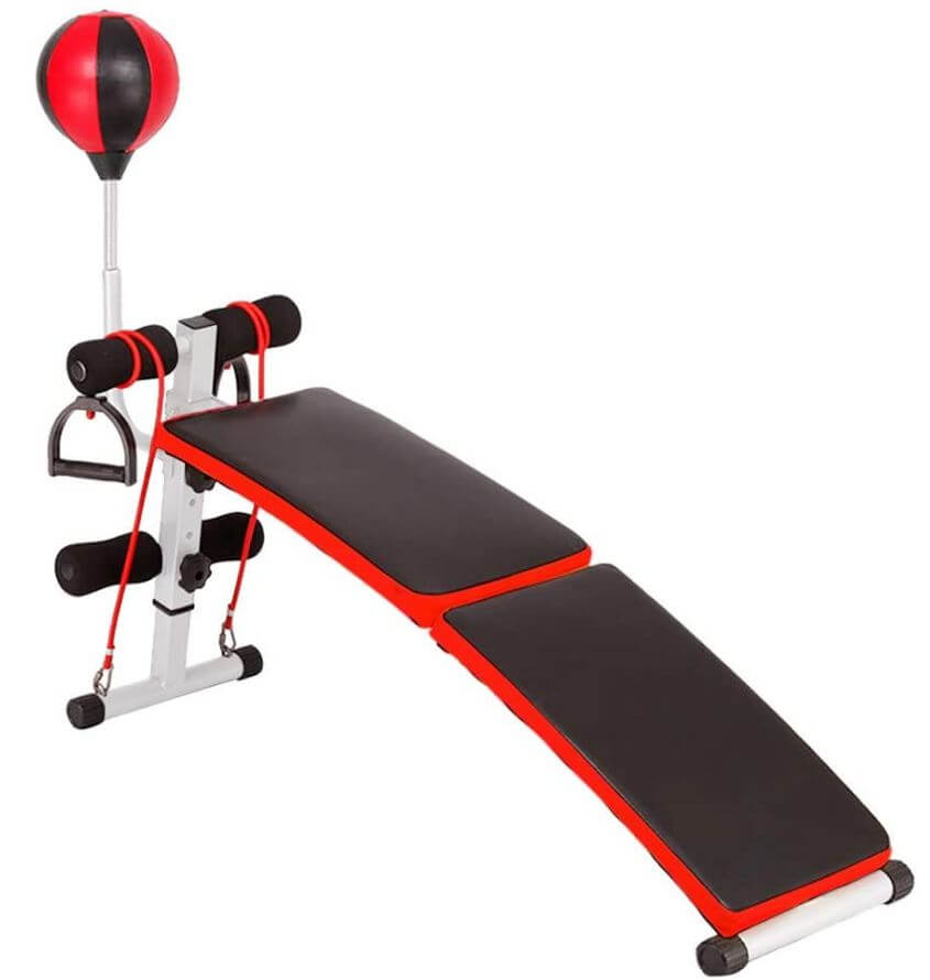 9) REYO Adjustable Sit Up Bench