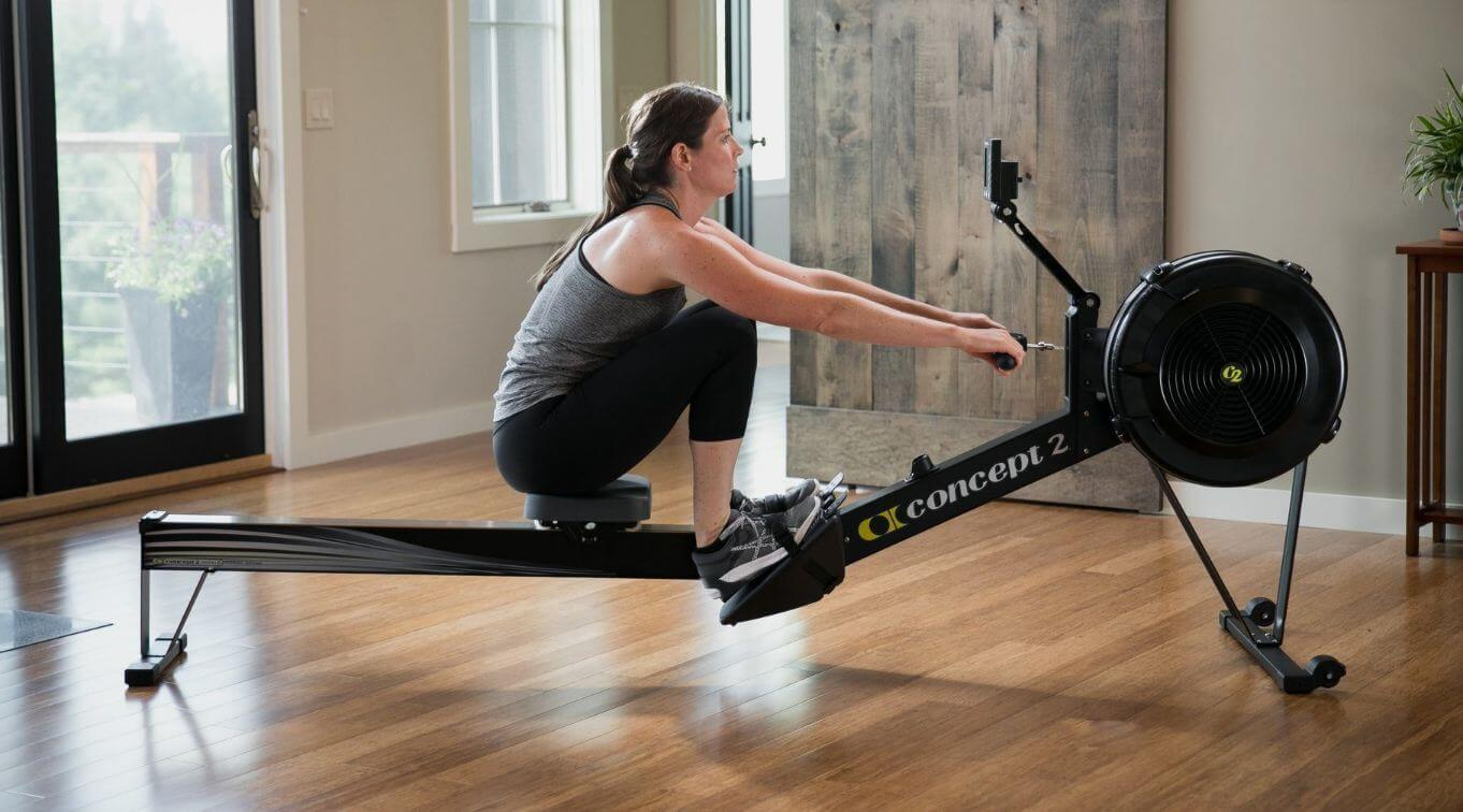 foldable magnetic rowing machine