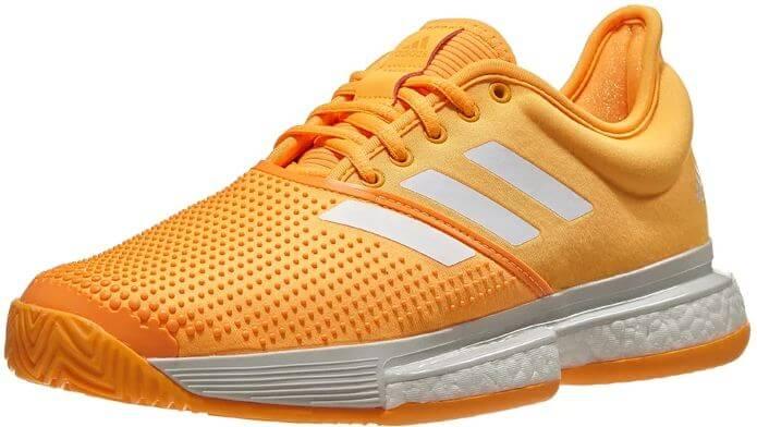 1) Adidas Women's Solecourt Boost Tennis Shoes
