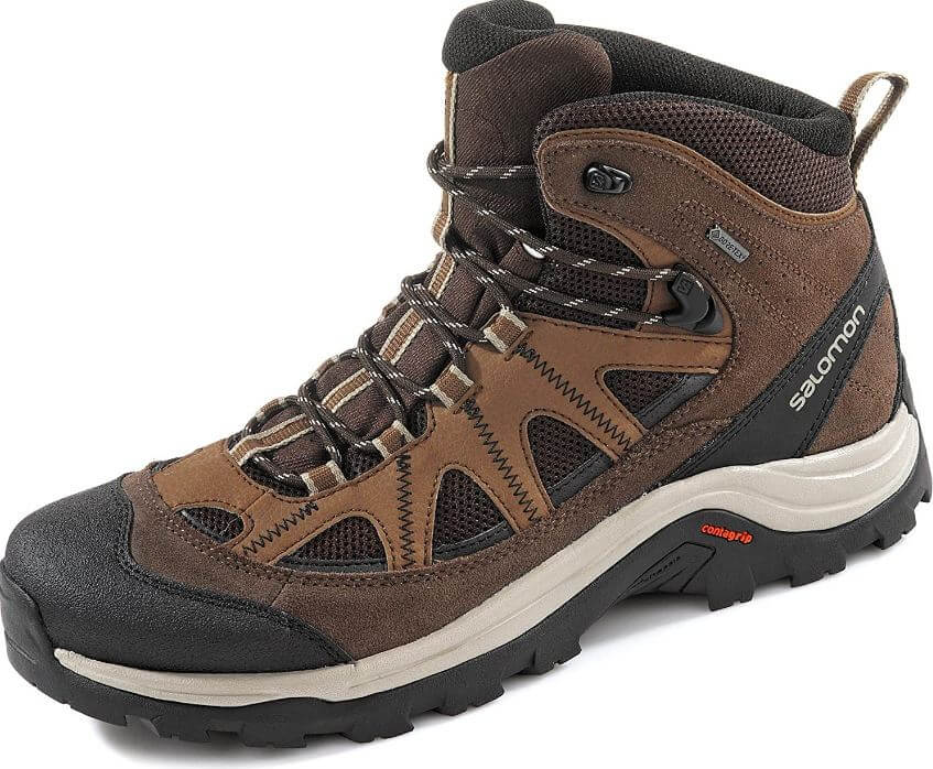 1) Salomon Men's Authentic LTR GTX Backpacking Boots