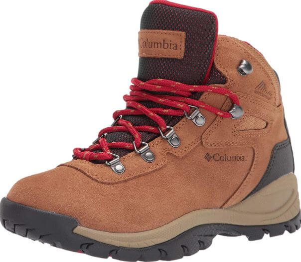 10) Columbia Women's Newton Ridge Plus Waterproof Amped Hiking Boot