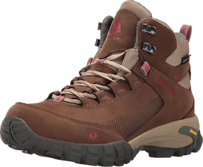 17) Vasque Women's Talus Trek UltraDry Hiking Boot